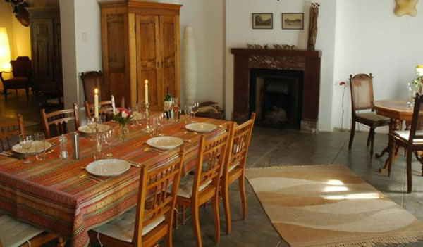 Ababis Guest Farm | Namibia: dining room