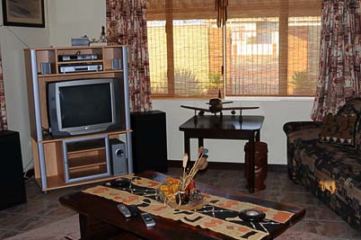 Bush Babies Swakopmund: TV room