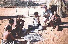 Intu Afrika Game Lodge Namibia bushmen village
