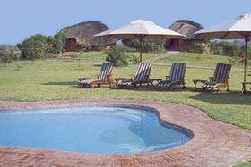 Chobe Savanna Lodge Namibia pool