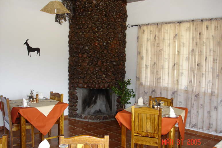 Hohenstein Lodge Namibia restaurant