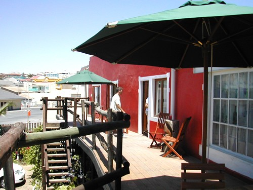Accommodation Kratzplatz Luderitz, Namibia