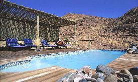 Kulala Wilderness Camp Namibia, pool