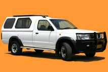 Asco Nissan single cab 4x4
