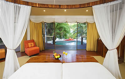 Ntwala Island Lodge Namibia room