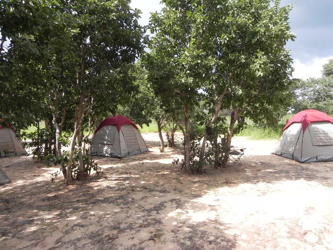 Omatako Valley Rest Camp, Namibia: camping area