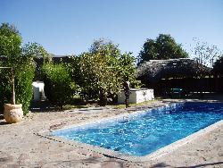 Oshikango Country Lodge Namibia pool