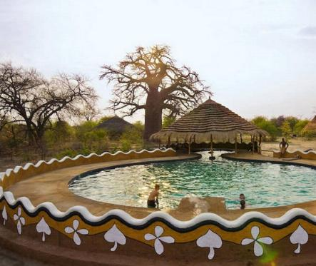 Planet Baobab Botswana - swimming pool