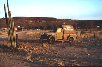 Canyon Road House Namibia: truck