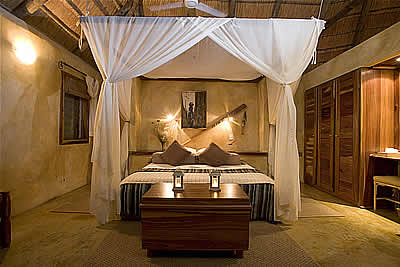 Susuwe Island Lodge Namibia room